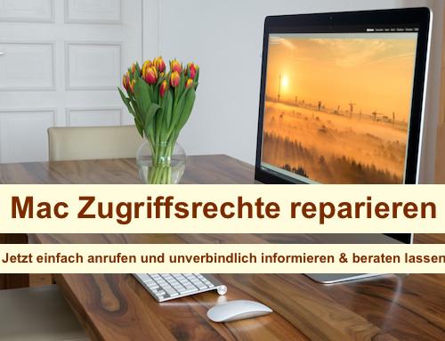 Mac Zugriffsrechte reparieren Berlin