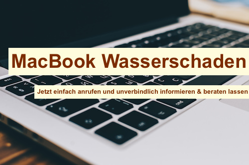 MacBook Wasserschaden Berlin