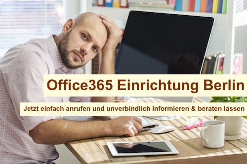 Office365 Einrichtung Berlin