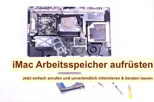 iMac Arbeitsspeicher aufrüsten Berlin