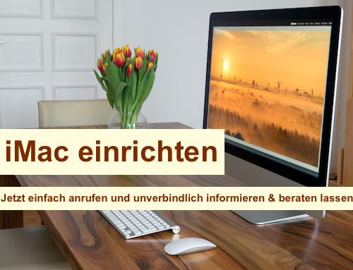 iMac einrichten Berlin