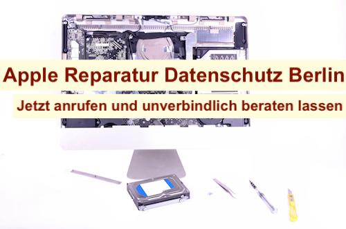 Apple Reparatur Datenschutz Berlin