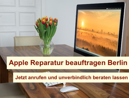 Apple Reparatur beauftragen Berlin