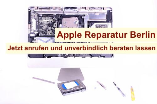 Apple Reparatur veranlassen Berlin