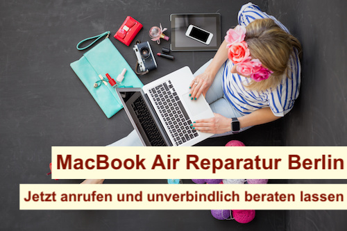 MacBook Air Wasserschaden reparieren Berlin