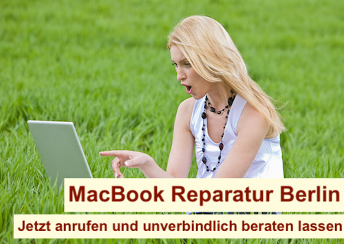 MacBook Reparatur Dauer Berlin