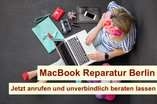 MacBook Reparatur Ersatzgerät Berlin