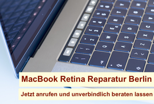 MacBook Retina Reparatur Berlin